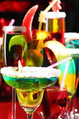 Coctail party or cocktail close-up — Stock Photo