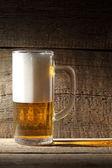 Mug beer — Stock Photo