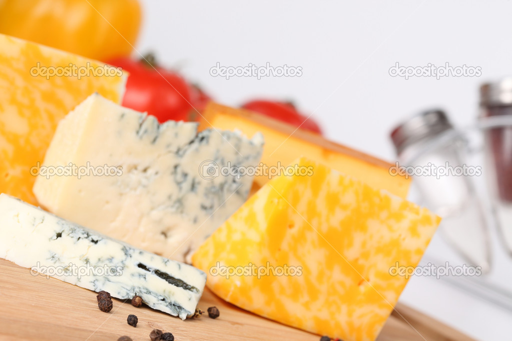 Cheese close-up  Stock Photo #5805173