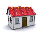 Protección de tarjeta de crédito para su hogar — Foto de Stock