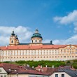 Stift Melk in Lower Austra - Stock Photo