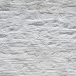 Texture of a white plastered Wall - Stock Photo