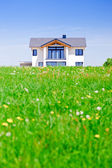 House in the Green — Stock Photo