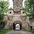 Tower in Rothenburg - Stock Photo