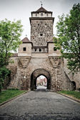 Tower in Rothenburg — Stock Photo