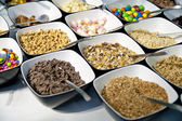 Sweets and Cereals — Stock Photo