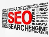 Search Engine Optimization SEO — 图库照片