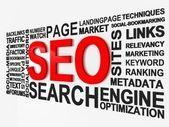 Search Engine Optimization SEO — Stock Photo