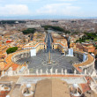 Vatican tilt shift effect - Stock Photo