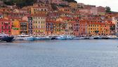 Harbour Scene Elba — Stock Photo