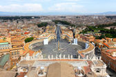 Vatican tilt shift effect — Stock Photo