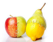 Frankenstein's Fruits — Stock Photo