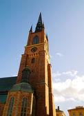 Riddarholms kyrkan church, Stockholm — Stock Photo
