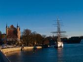Skeppsholmen island, Stockholm, Sweden — Stock Photo