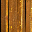 Old golden brown wooden planks — Stock Photo
