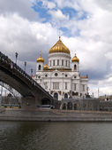 Cathedral of the Christ the Savior, Moscow — Stock Photo