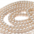 Pearls necklace jewelry — Stockfoto