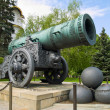 Tsar canon, largest bombard — Stock Photo #5689828
