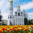 Ivan the Great Bell-Tower complex, Kremlin, Moscow, Russia — Foto de Stock