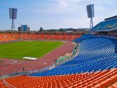 Empty football stadium — Zdjęcie stockowe