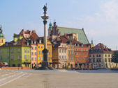 Old town square, Warsaw, Poland — Stock Photo