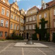Stock Photo: Street of old town, Warsaw, Poland