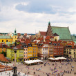 Old town square, Warsaw, Poland - Stock Photo