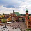 Old town square, Warsaw, Poland — Stock Photo #5932020