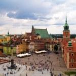 Old town square, Warsaw, Poland — Stock Photo