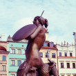 Symbol of old Warsaw - Stock Photo