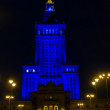 Palace of Culture and Science, Warsaw - Stock Photo