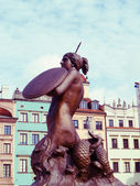 Symbol of old Warsaw — Stock Photo