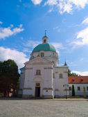 Church of saint Kazimerz, Warsaw — Stock Photo