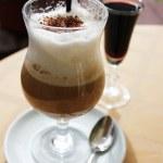 Coffee with liqour — Stock Photo #6173940
