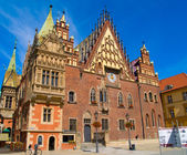 City hall of Wroclaw, Poland — Stock Photo
