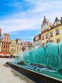 Market square, Wroclaw, Poland — Stock Photo