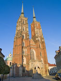 Cathedral, Wroclaw, Poland — Stock Photo