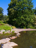 Japan garden, Wroclaw, Poland — Stock Photo