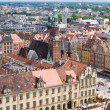 Old town of  Wroclaw, Poland — Stock fotografie