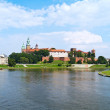 Royal castle at Wawel, Krakow, Poland — Stock Photo #6423891