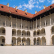 Stock Photo: Royal castle at Wawel, Krakow, Poland