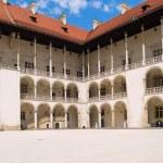 Royal castle at Wawel, Krakow, Poland — Stock Photo #6424044