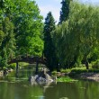 Japan garden, Wroclaw, Poland — Stock Photo