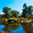 Japan garden, Wroclaw, Poland - Stock Photo