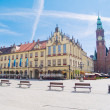 Stock Photo: Old town of Wroclaw, Poland