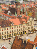 Old town of Wroclaw, Poland — Stock Photo