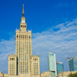Skyline of Warsaw — Stock Photo #6463517