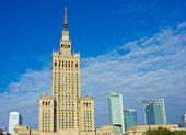 Skyline of Warsaw — Stock Photo