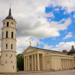 Cathedral of Vilnius, Lithuania — Stock Photo