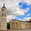 Cathedral of Vilnius, Lithuania - Stock Photo
